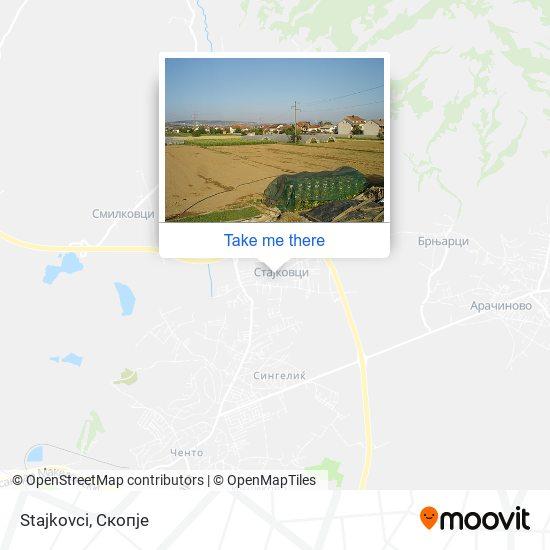 Stajkovci map