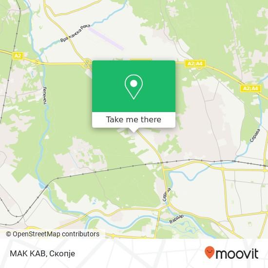MAK KAB map