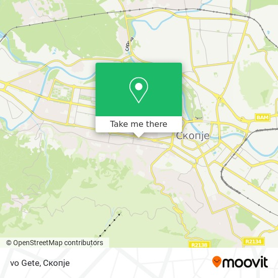 vo Gete map