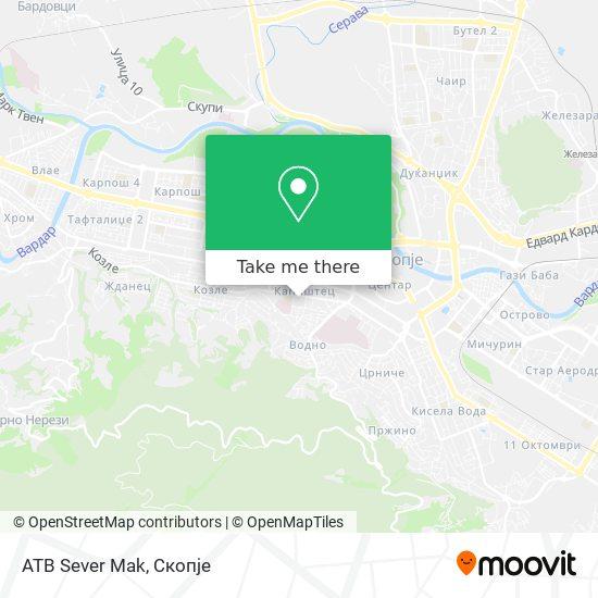 ATB Sever Mak map