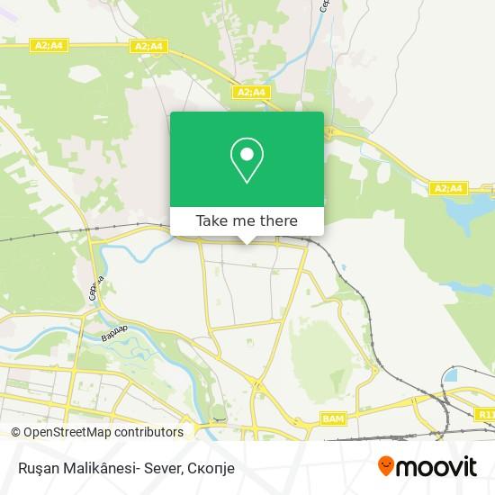 Ruşan Malikânesi- Sever map