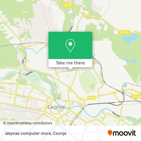 aleynas computer store map