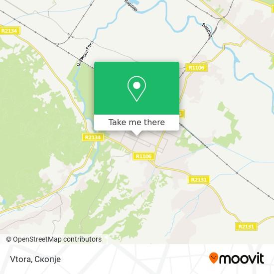 Vtora map