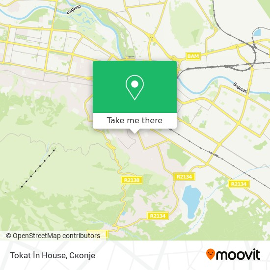 Tokat İn House map