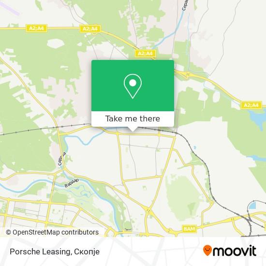 Porsche Leasing map