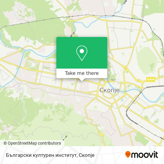 Български културен институт map