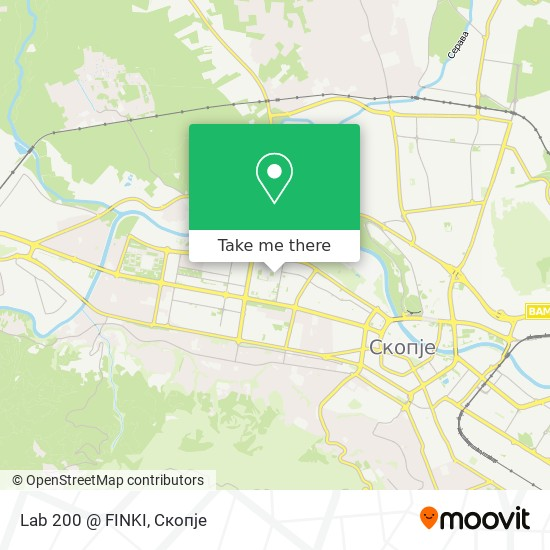 Lab 200 @ FINKI map