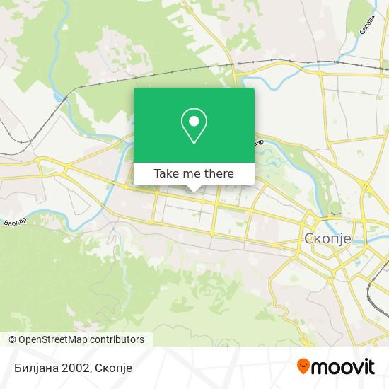 Билјана 2002 map
