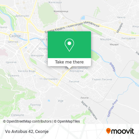 Vo Avtobus 42 map
