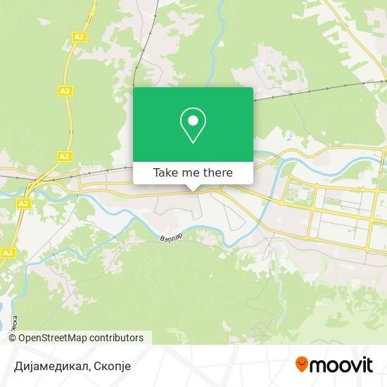 Дијамедикал map