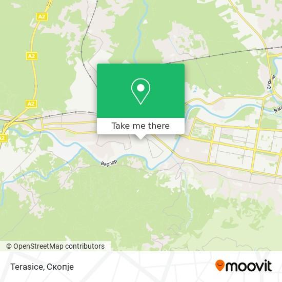 Terasice map