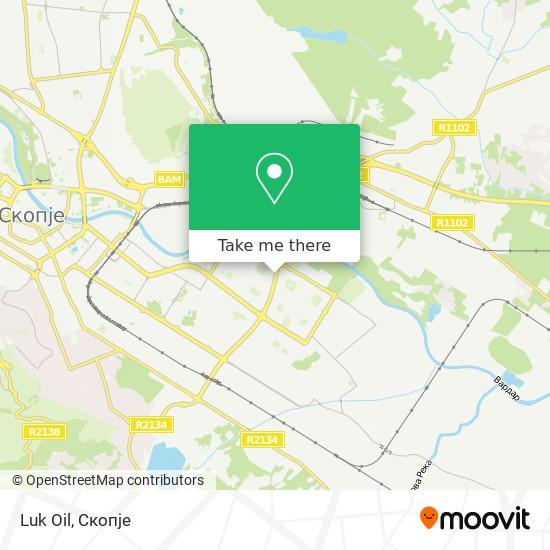 Luk Oil map