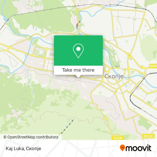 Kaj Luka map
