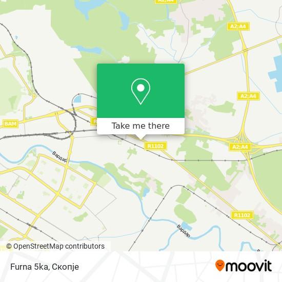 Furna 5ka map