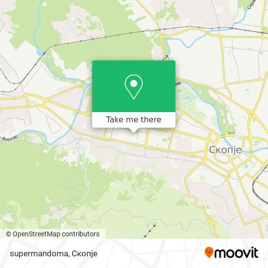 supermandoma map