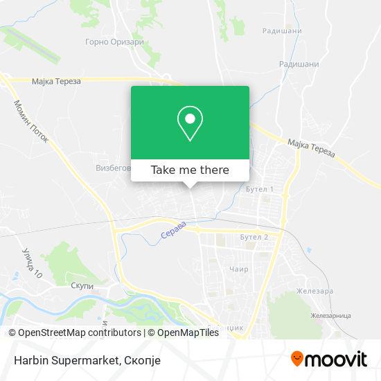 Harbin Supermarket map