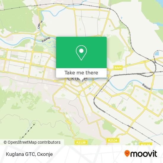 Kuglana GTC map