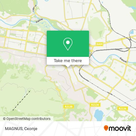 MAGNUS map