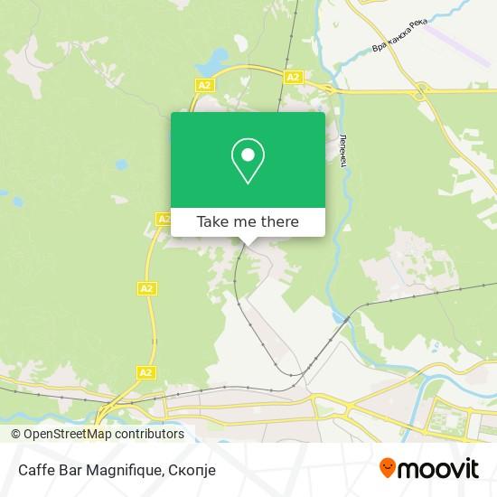 Caffe Bar Magnifique map