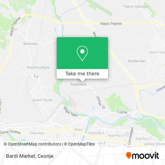 Bardi Market map