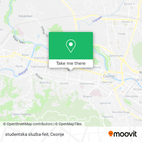 studentska sluzba-feit map