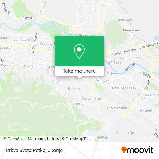 Crkva Sveta Petka map