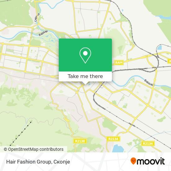 Hair Fashion Group map
