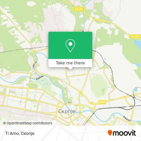 Ti Amo map