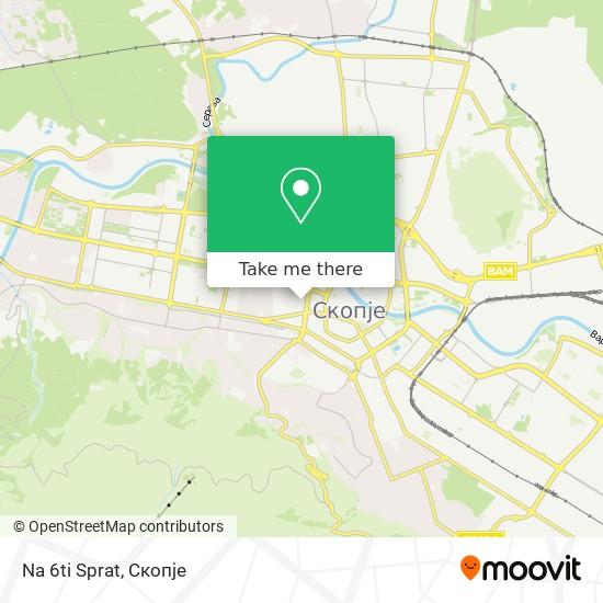 Na 6ti Sprat map