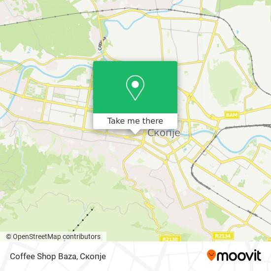 Coffee Shop Baza map