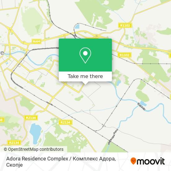 Adora Residence Complex / Комплекс Адора map