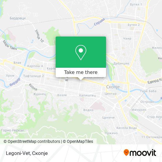 Legoni-Vet map