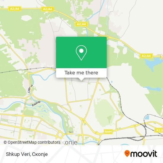 Shkup Veri map