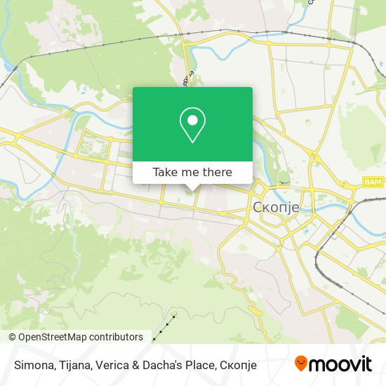 Simona, Tijana, Verica & Dacha's Place map