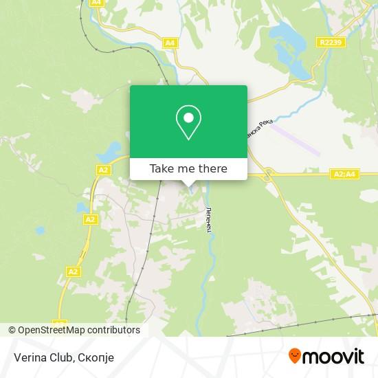 Verina Club map