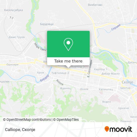 Calliope map