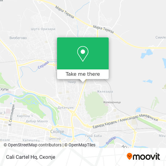 Cali Cartel Hq map