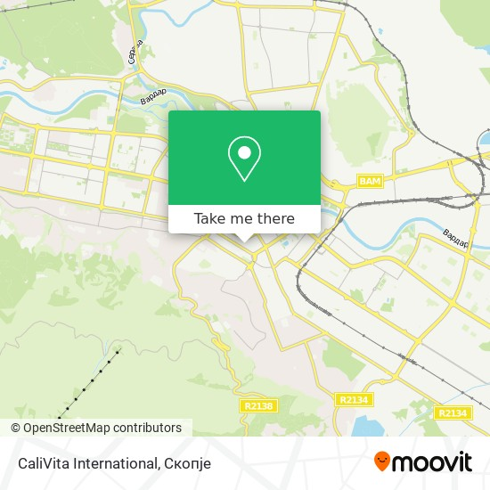 CaliVita International map