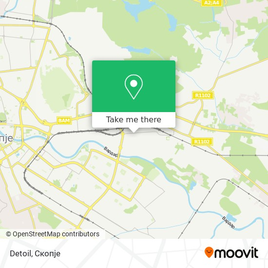 Detoil map