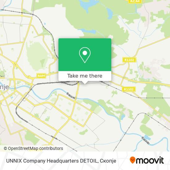 UNNIX Company Headquarters DETOIL map