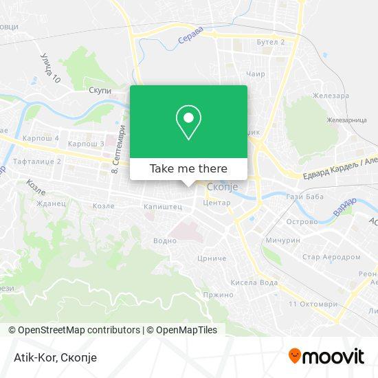 Atik-Kor map