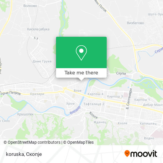 koruska map