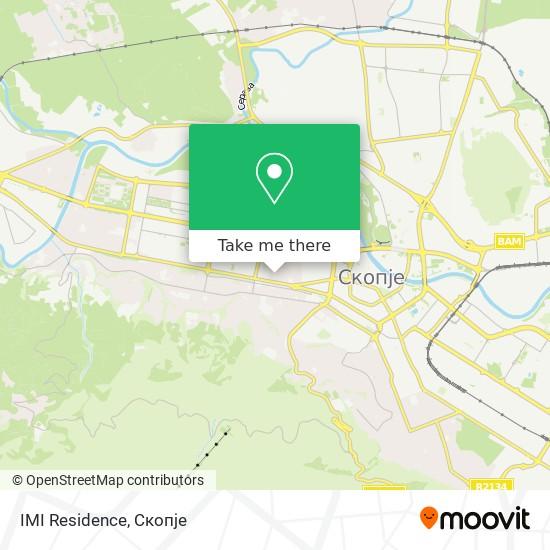 IMI Residence map