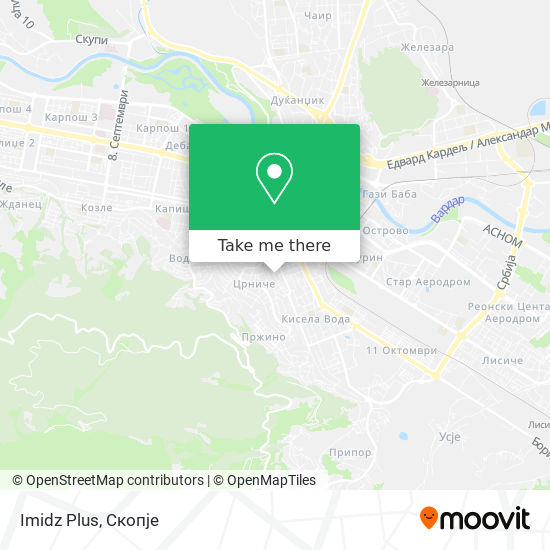 Imidz Plus map