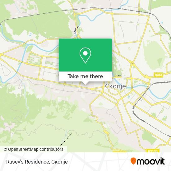 Rusev's Residence map