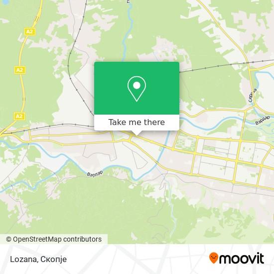 Lozana map