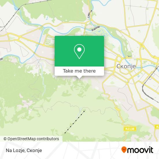 Na Lozje map