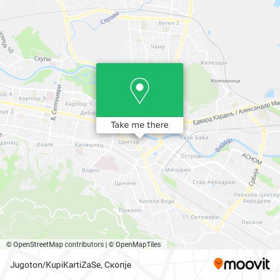 Jugoton/KupiKartiZaSe map