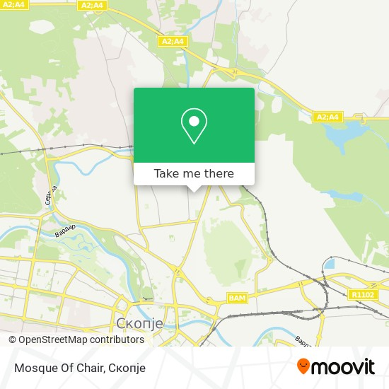 Mosque Of Chair map