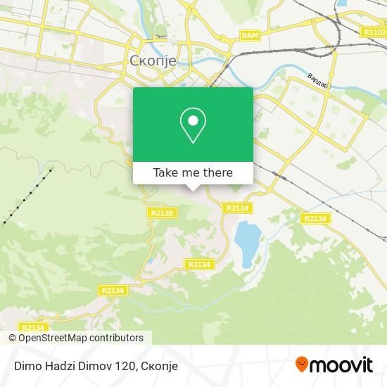 Dimo Hadzi Dimov 120 map